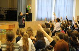Директор языковой школы из Ирландии в гостях у нашей гимназии